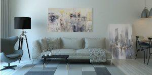 Zariaďovanie interiéru obývačky v základných krokoch